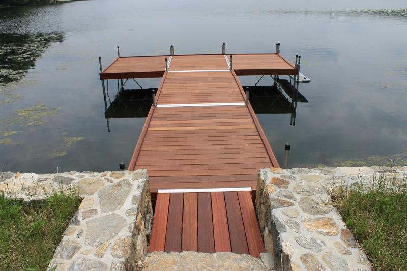 DuraLite System, Special Mahogany Deck and Skirt Boards, Taunton Lake, Newtown